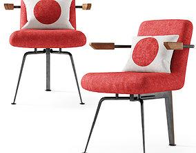 3D Japanese lounge chair