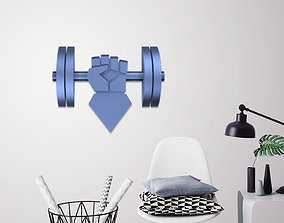 3D print model Athlete hand wall art