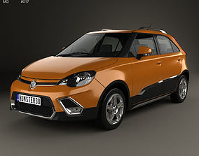 5-door MG 3 Xross 2011 3D model