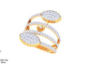 ring diamond DL-27 3D print model