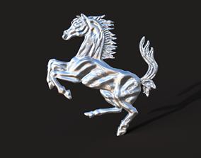 Ferrari emblem 1967 3D print model