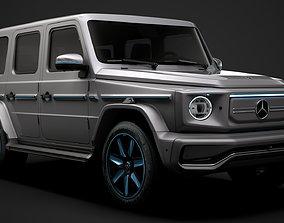 3D model Mercedes Benz EQG 2022