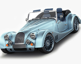 Morgan Plus Six 3D model