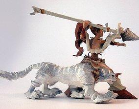 Nidalee figurine 3D print model