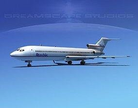 Boeing 727-200 Republic Airlines 3D