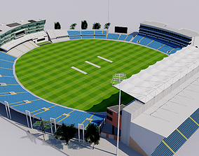 Headingley Cricket Ground - Leeds 3D model