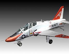 Boeing T45C Goshawk aircraft 3D model