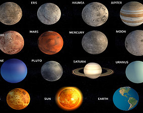 3D model Planets collection