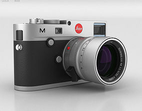 3D Leica M Type 240 Silver