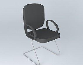 3D Interlocutor fixed chair
