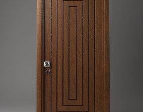 Wooden Door entrance 3D