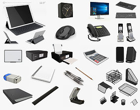 3D model Office Collection 02