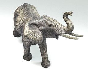 3D Elephant Sculpture