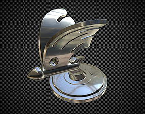 for skoda hood ornament 2 3D