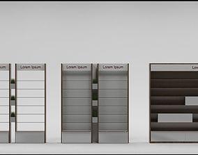 3D model Furniture set for the pharmacy or perfumery