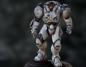 Medic 3d model game-ready