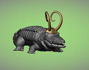 3D printable model Loki Marvel AlligatorLoki Crocky