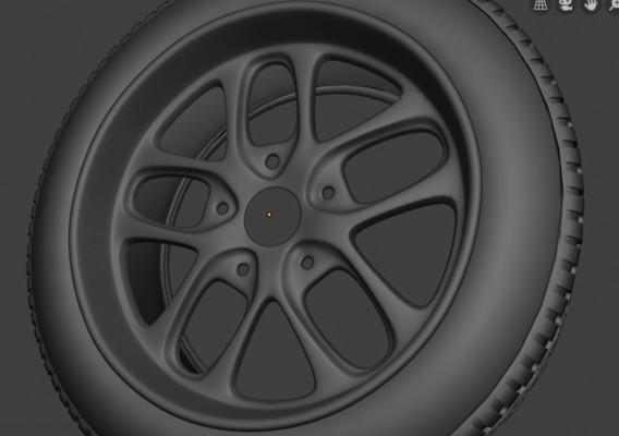 Advanced spot car wheels