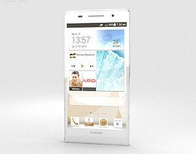 Huawei Ascend P6 S White 3D model
