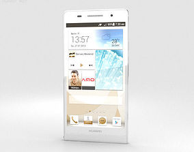 Huawei Ascend P6 S White 3D model