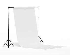 Photo Studio Background 3D Model