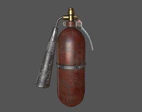 3D model Old Fire Extinguisher