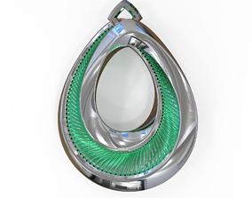 Jewellery Pendant 3D print model neckless