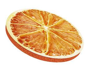 Dried orange 3D model