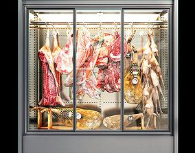 3D Refrigerator animal carcasses