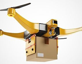 3D model Package Delivery Drone