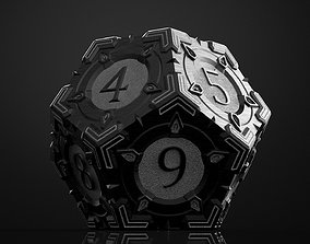 3D model Steampunk dice