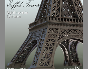 monument 3D printable model Eiffel Tower