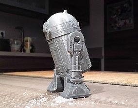 R2D2 Salt and pepper shaker 3D print model