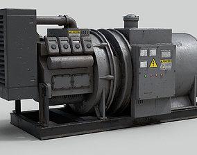 3D model Industrial Generator