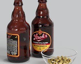 3D model Strohs Beer