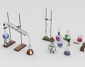 3D model Lab Equipment
