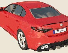 Alfa Romeo Giulia QV - 2016 3D model