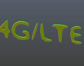 4G LTE 3D model