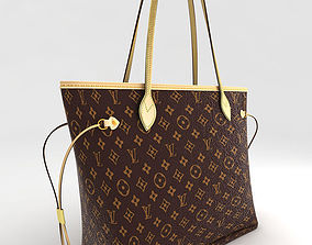 3D asset Louis Vuitton Neverfull 2012