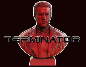 3D print model TERMINATOR Arnold Schwarzenegger