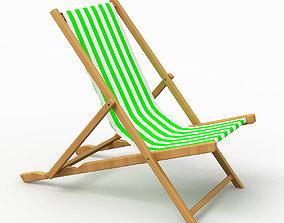 Beach Chair 4 3D model