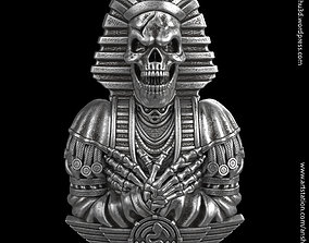 3D print model Egyptian skull vol2 Pendant and relief