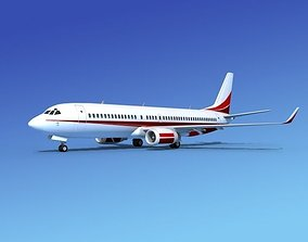 Boeing 737-800 Corporate 7 3D model