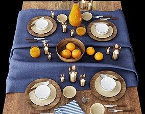 decor TABLE SETTING 01 3D model