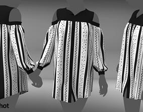 set of 2 shirts 3D model