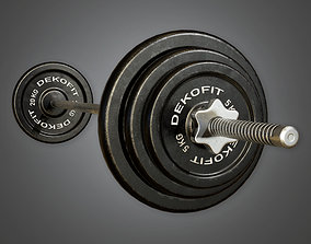 SAG - Gym Weight Set 01 - PBR Game Ready 3D model