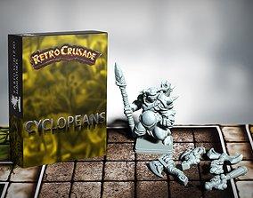 Retrocrusade - Cyclopeans set 2 3D printable model