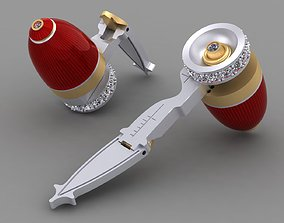 Cufflinks Transformer with 3D print model