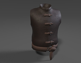Leather Chestplate 3D model