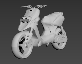 mbk booster rocket yamaha next 3D printable model